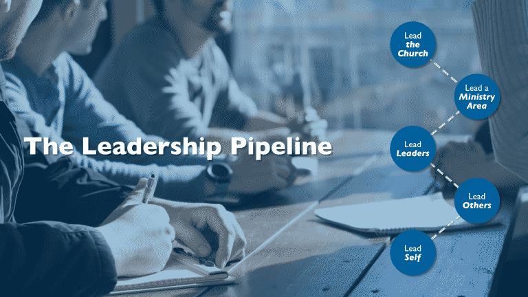 The Leadership Pipeline in Church Planting